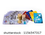 closeup of a collection of...   Shutterstock . vector #1156547317