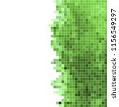 white green mosaic background.... | Shutterstock .eps vector #1156549297