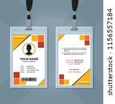 creative id card design   Shutterstock .eps vector #1156557184
