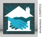 property or real estate... | Shutterstock .eps vector #115659211