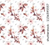 seamless pattern with... | Shutterstock . vector #1156595557