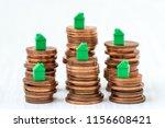 conceptual visualization of... | Shutterstock . vector #1156608421