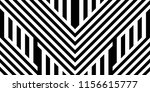 seamless pattern with striped... | Shutterstock .eps vector #1156615777