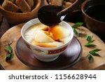 wedang tahu or kembang tahu. ...   Shutterstock . vector #1156628944