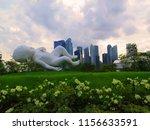 a giant...   Shutterstock . vector #1156633591
