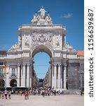 lisbon  portugal   31 july 2018 ... | Shutterstock . vector #1156639687