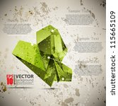 eps10 vector abstract grunge...   Shutterstock .eps vector #115665109
