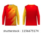 templates of sportswear designs ... | Shutterstock .eps vector #1156675174