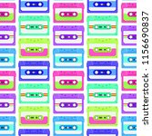 retro seamless background with... | Shutterstock .eps vector #1156690837