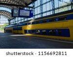 haarlem  netherlands  july 2018 ... | Shutterstock . vector #1156692811