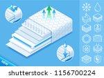 concept of comfortable... | Shutterstock .eps vector #1156700224