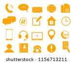 set of contact information... | Shutterstock .eps vector #1156713211