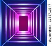 bright neon lines background...   Shutterstock .eps vector #1156713547