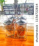 flavouring condiment accessories   Shutterstock . vector #1156722814