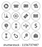 money icons  money cash icons... | Shutterstock .eps vector #1156737487
