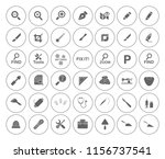 repair tools icons set  ... | Shutterstock .eps vector #1156737541