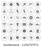 sports icons set   play sign... | Shutterstock .eps vector #1156737571