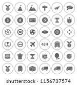 sports icons set   play sign... | Shutterstock .eps vector #1156737574