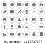 sports icons set   play sign... | Shutterstock .eps vector #1156737577
