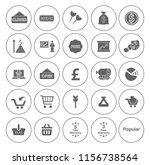 marketing icons set   vector... | Shutterstock .eps vector #1156738564