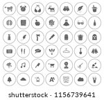 art icons set   vector graphic... | Shutterstock .eps vector #1156739641