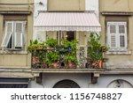 beautiful exterior symmetry... | Shutterstock . vector #1156748827