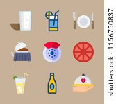 drink icons set. event  cafe ... | Shutterstock .eps vector #1156750837