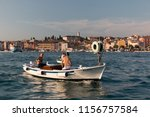 rovinj  croatia   july 24  2018 ... | Shutterstock . vector #1156757584