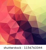 vector background from polygons ... | Shutterstock .eps vector #1156763344