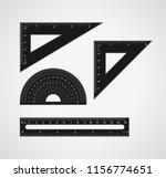 school supplies. set of...   Shutterstock .eps vector #1156774651