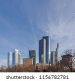 skyline of frankfurt with...   Shutterstock . vector #1156782781