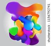 beautiful abstract 3d... | Shutterstock .eps vector #1156792741