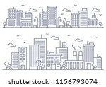 vector illustration   thin line ... | Shutterstock .eps vector #1156793074