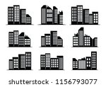 vector illustration   black... | Shutterstock .eps vector #1156793077