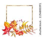 autumn composition....   Shutterstock . vector #1156800391