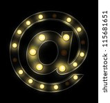 vintage sign light mail symbol | Shutterstock . vector #115681651