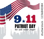 Vector Poster Of Patriot Day....
