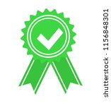 green approved or certified... | Shutterstock . vector #1156848301