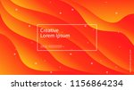 wave and geometric color... | Shutterstock .eps vector #1156864234