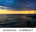 the adriatic coast sunset | Shutterstock . vector #1156884247