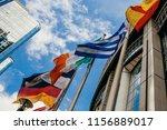 brussels  belgium   may 20 ... | Shutterstock . vector #1156889017