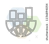 stats icon vector can be used... | Shutterstock .eps vector #1156894054