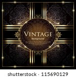 vintage background | Shutterstock .eps vector #115690129
