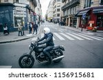 paris  france   october 7  2016 ... | Shutterstock . vector #1156915681