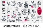 big vector set with 24... | Shutterstock .eps vector #1156916464