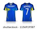 t shirt sport design template ... | Shutterstock .eps vector #1156919587