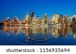 panorama of sydney harbour and... | Shutterstock . vector #1156935694