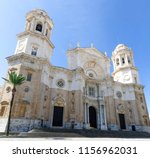 detail of christian cathedral... | Shutterstock . vector #1156962031