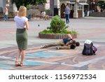 ukraine  vinnytsia. 07 29 2018. ... | Shutterstock . vector #1156972534