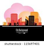 city landscape | Shutterstock .eps vector #115697401